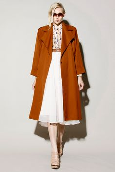 Vintage 80s Christian Dior Long Trench Coat http://thriftedandmodern.com/vintage-80s-christian-dior-long-trench-coat