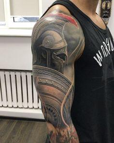 Resultado de imagem para guerreiro tattoo #menstattooideas #menstattoos