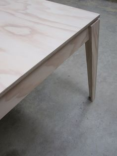 From the Superply range Made from Radiata plywood and finished in Scandinavian Blond Dimensions: 120cm x 120cm x 76cm High. Finish: Osmo Polyx Oil - Scandinavian Blond Price: $875 also available...