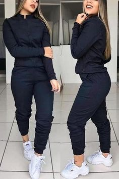 Cute Swag Outfits, Sporty Outfits, Teen Fashion Outfits, Classy Outfits, Stylish Outfits, Hiking Outfits, Denim Bomber Jacket, Jumpsuit With Sleeves, Mode Streetwear