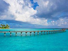 Long romantic walks.. discover Maldives as a honeymoon destination!