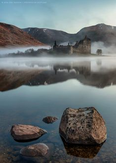 Kilchurn Castle on Loch Awe - Argyll and Bute| Neil McDade, Spectacular Scotland on Facebook