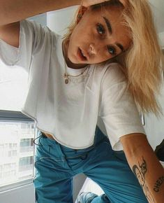 Nike Outfits, Casual Outfits, Freestyle Rap, Perfect Boy, Cute Girls, Pretty Girls, Celebs, Style Inspiration, T Shirts For Women