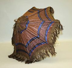 Parasol  Date: second half 19th century Culture: French