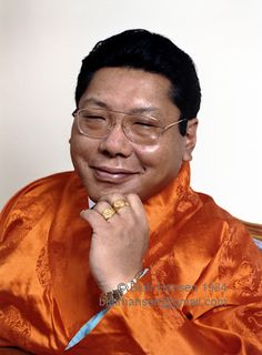 My teacher, Chogyam Trungpa  Rinpoche who left this earth 25 years ago today.   With deepest gratitude for his presence and teachings.