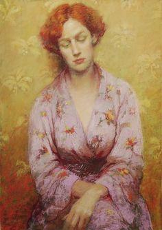 Lilac Silk Gown - Judy Drew | Eva's blog