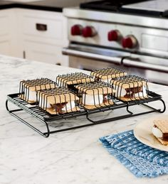Steel Wire Indoor S'More Maker for Oven, Toaster or Grill from Plow & Hearth on Catalog Spree, my personal digital mall.