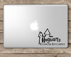 Amazon.com: Hogwarts Honor Student Harry Potter - Apple Macbook Laptop Vinyl Sticker Decal: Computers & Accessories