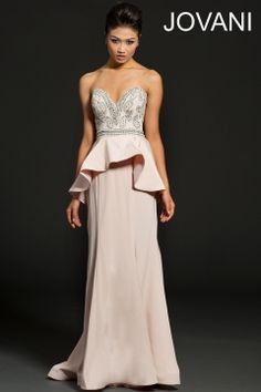 Strapless sweetheart gown 99380
