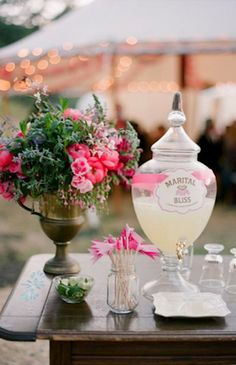 drink station kentucky derby inspiration event party wedding