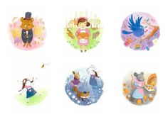 The Woodland Animals Alphabet Book by Jasmine Ting, via Behance