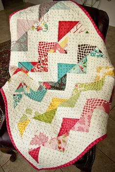 awesome chevron quilt