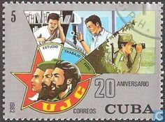 Postage Stamps - Cuba [CUB] - Communist Youth Association