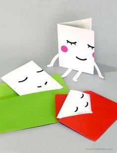 Lazy Cards   Mr Printables