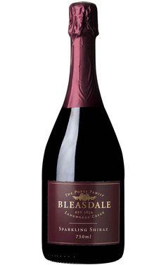 Bleasdale Sparkling Shiraz NV Langhorne Creek - 6 Bottles Sparkling Shiraz, Sparkling Wine, Wine Label Design, Roasted Meat, Wine Packaging, Christmas Pudding, Types Of Soil, Red Wine, Bottles