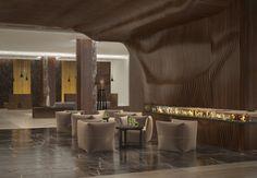 Гостиничный комплекс Marriott. Relaxation area