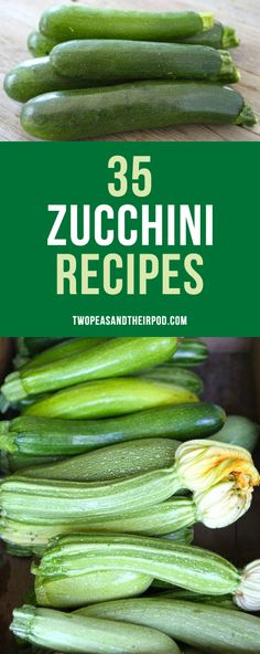 The very BEST zucchini recipes! You will want to make them all with your garden zucchini this summer. There are sweet and savory recipes!