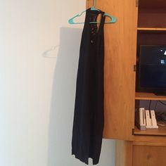 Black dress Long black dress never worn Dress Barn Dresses Asymmetrical