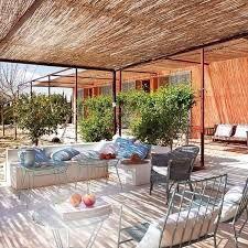 Bildergebnis für Glasdach mit Schilfmatten für Pergola
