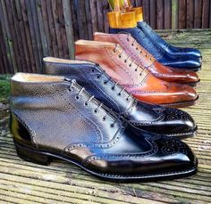 Ascot Shoes — Ankle Boots in preparations for the New York Vass...