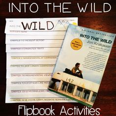Into the Wild Activities and Unit Plan. Very creative!