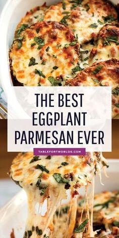 The Best Eggplant Parmesan Ever...