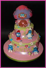 Smurf Cake - maybe for addy?