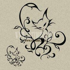Tatuajes de gatos, diseños e ideas: página 41 - Katzen-Figuren - Bild Tattoos, Body Art Tattoos, Tatoos, Cat Tattoos, Sleeve Tattoos, Tattoo Gato, Small Foot Tattoos, Cat Tattoo Designs, Motifs Animal