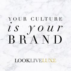 And your BRAND is your culture. Think about it? Does your brand/company culture exude fun, creativity and is inspiring for you and your team or does it have a more serious and moot vibe that is purely based on performance and meeting quotas? Culture is just as important as your marketing strategy. Decide what it is, before it is decided for your brand. We like the former! Ours can be considered as living colorfully, inspiring one another, yet customer-centric. You'll notice that our culture…