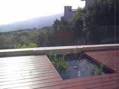Garden Landscaping, Pond, Deck, Fish, Outdoor Decor, Front Yard Landscaping, Water Pond, Front Porches, Decks