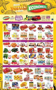 Catálogo de promoções de Supermercado Econômico