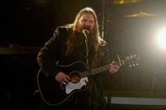 58th GRAMMY nominee Chris Stapleton performs at the 2016 MusiCares Person of the Year tribute to Lionel Richie on Feb. 13 in Los Angeles