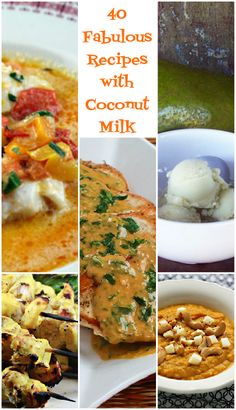 40 fabulous recipes with coconut milk - The Perfect Pantry®