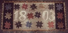 Ohio state commemoration in wool . . . february 2015 . . .