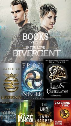 Books to try if you love Divergent.