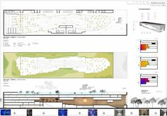 Image 1 of 11 from gallery of Helsinki Central Library Competition Entry / Plan 01. plans and section