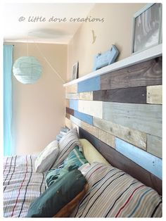 Reusing wood pallets is the major rage in home design today. Here are 10 DIY wood pallet projects for you. House, Home Projects, Home, Pallet Wood Headboard, Wood Diy, Furniture Projects, Home Diy, Diy Pallet Wall, Pallet Designs