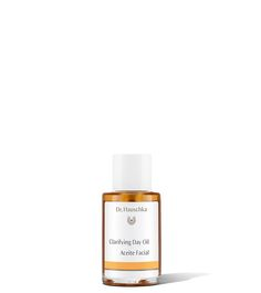 """MAGIC IN A BOTTLE: """"The natural skin care line Dr. Hauschka includes Clarifying [Day] Oil formulated with apricot kernel, almond and wheat germ.  It's lightweight and fast absorbing, refining pores and combating redness so you can rock that radiant complexion with superior confidence."""""""