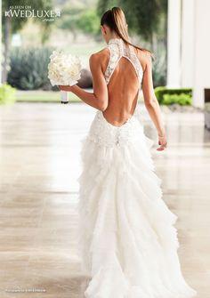 Photography: A Brit & A Blonde Reception Venue: Reserva Conchal Event Design: Perennial Weddings Floral Design: Artflower Gown: Cymbeline Paris