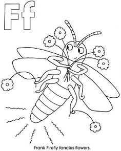 F is for firefly!