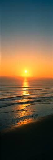 Sea at Sunset Daytona Beach Sunrises & Sunsets Wall Graphics