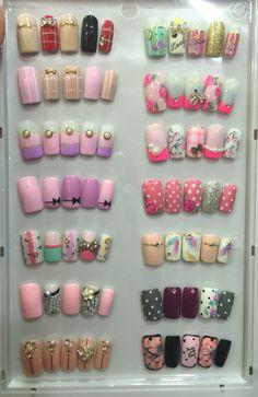 Nail Art Diy, Diy Nails, Swag Nails, Cute Nails, Nail Art Wheel, Yellow Nail Art, Korean Nail Art, Nail Tattoo, Best Acrylic Nails