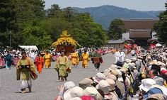 """""""The Aoi Matsuri (葵祭) is one of Kyoto's three most famous festivals and takes place every may 15"""""""