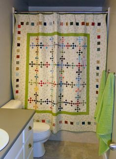 Quilts as upholstery, headboards—shower curtains? If you're looking for ways to decorate with all the quilts you make, stop by for fresh ideas from Jill Finley, author of the new book Home Sweet Quilt.