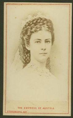 Empress Elisabeth of Austria, aka Sissi, Empress Sissi, The Empress, Old Pictures, Old Photos, Vintage Photos, Impératrice Sissi, Kaiser Franz, Elisabeth, Her World