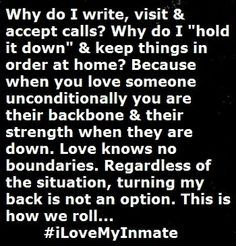 . -Holly #spwf Prison Wife Quotes, Prison Inmate, Inmate Love Quotes ...
