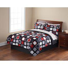 (My Room) Mainstays Evans Bed in a Bag Bedding Set $45