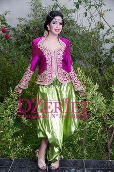 algerian traditional clothes(karako)