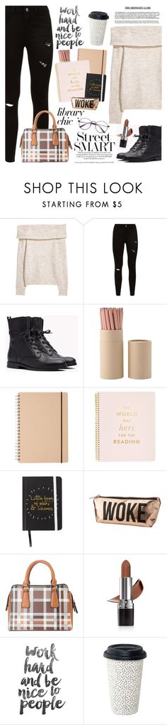 """""""Work Hard, Play Hard: Finals Season"""" by martinabb ❤ liked on Polyvore featuring Kate Spade, Charlotte Russe, Diophy and Avon"""
