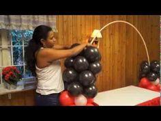Cómo hacer un arco de globos ~ cositasconmesh